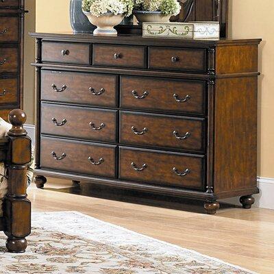 Langston 9 Drawer Standard Dresser