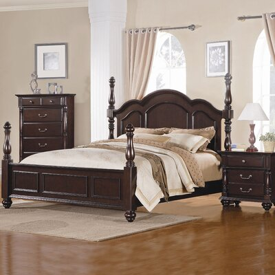 Buy Low Price Woodbridge Home Designs Townsford Four Poster Bedroom Collection Bedroom Set Mart