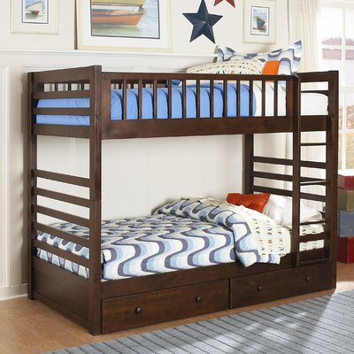 Loan for furniture Dreamland Bunk Bed with Built-In La...