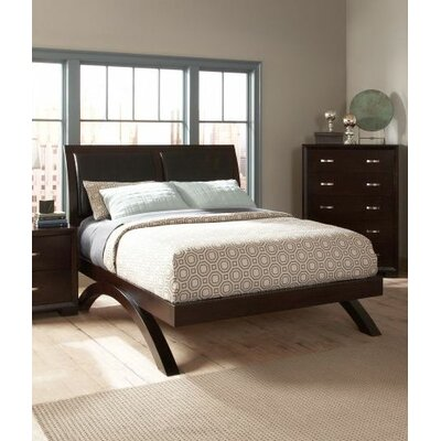 1313 Series Upholstered Platform Bed Size: Queen