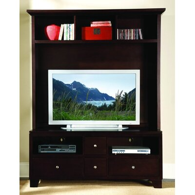 Cheap Woodbridge Home Designs 8020 Series Plasma 63″ TV Stand in Espresso (HE3338)