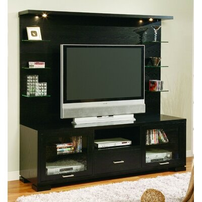 Cheap Woodbridge Home Designs Woodbridge Home Designs 8030 Series Media Stand in Black (HE3349)