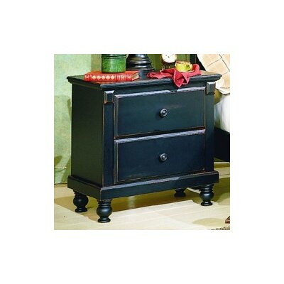 Financing 875 Series 2 Drawer Nightstand Fini...