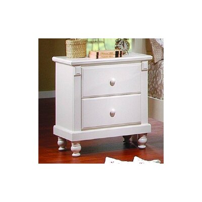 No credit check financing 875 Series 2 Drawer Nightstand Fini...