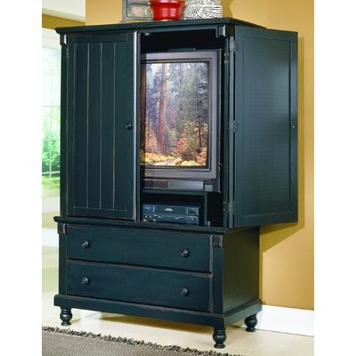 875 Series Armoire Finish Black Sand Through