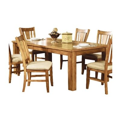 low price woodbridge home designs 986 series rectangular dining table