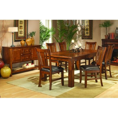 Woodbridge Home Designs 986 Series 7 Piece Dining Room Set