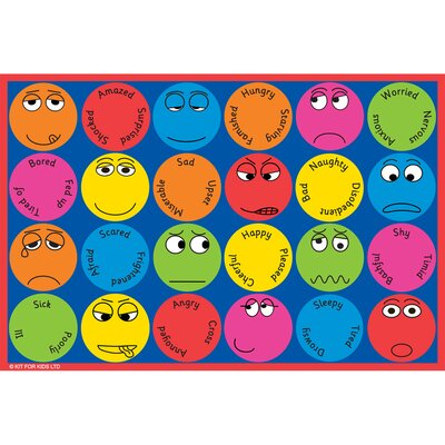 Emotions Kids Rug