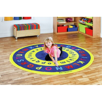 Blue/Yellow Area Rug