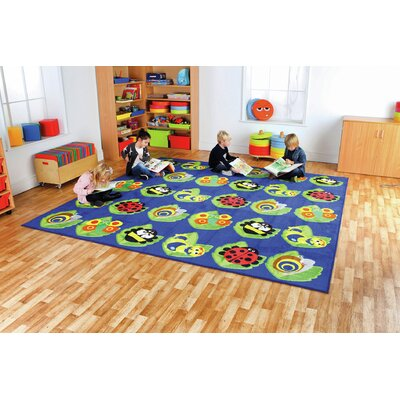 Back to Nature Bug Kids Rug