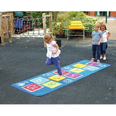 Blue Kids Indoor/Outdoor Area Rug