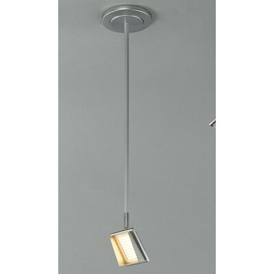 Gallery 1-Light Flush Mount Track Pendant Stem Size: 18