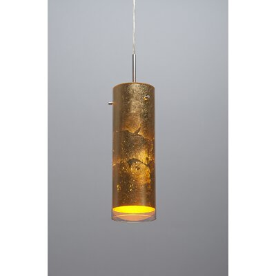 Cyrus 1-Light Monopoint Pendant Color: Bronze