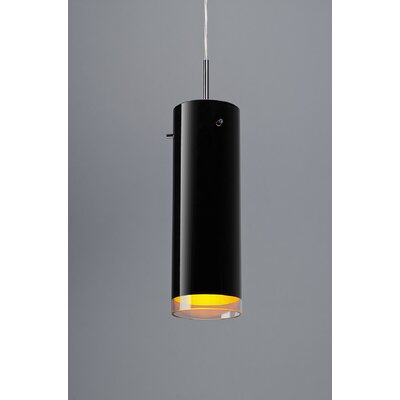 Cyrus 2 1-Light Monopoint Pendant Color: Chrome