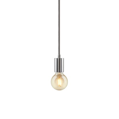 Gents 1-Light Mini Pendant Finish: Brushed Nickel