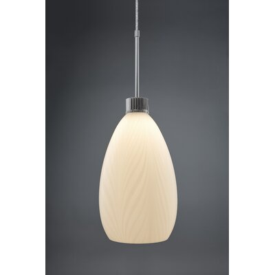Cassini 1-Light Monopoint Pendant Finish: Matte Chrome