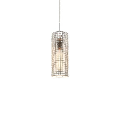 Sierra 2 1-Light Monopoint Pendant Color: Matte Chrome