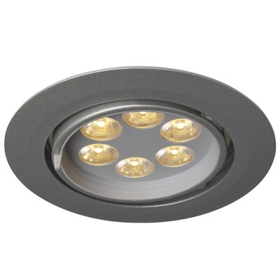 Ledra G6 Gimbal LED Recessed Trim Finish: Matte Chrome