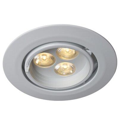 LEDRA G3 Gimbal LED Recessed Trim Finish: White