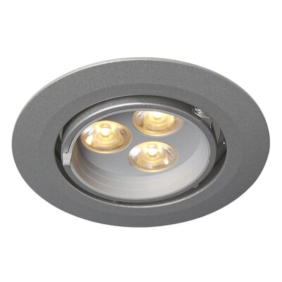 LEDRA G3 Gimbal LED Recessed Trim Finish: Matte Chrome