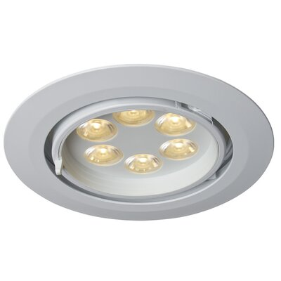 Ledra G6 Gimbal LED Recessed Trim Finish: White