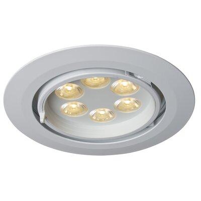 Ledra G6 Gimbal LED Recessed Individual Spotlight Finish: White