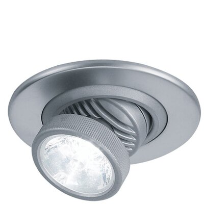 Ledra LED Recessed Trim Finish: White