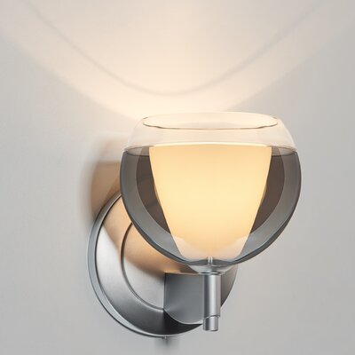 Matrix 1-Light Wall Sconce Base Color: Matte Chrome