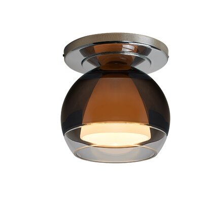 Matrix 1-Light Wall Sconce Base Color: Bronze