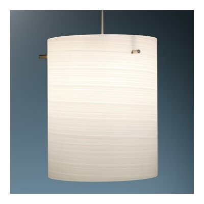 Regal 1-Light Drum Pendant Finish: Matter Chorme, Shade Color: White