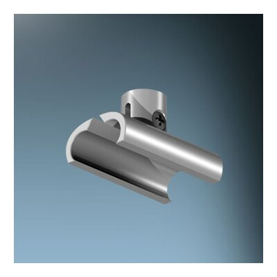 V/A 0.5 X 1.5 Wall/Ceiling Mounting Clip Finish: Matte Chrome