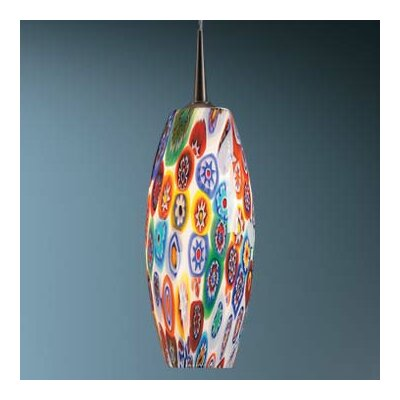 Ciro 1-Light Mini Pendant Color: Bronze