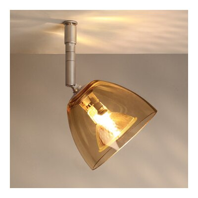 Rainbow 1 Light Spot Light Finish: Bronze, Shade Color: Smoky, Bulb Type: 50W halogen GU5.3 MR-16