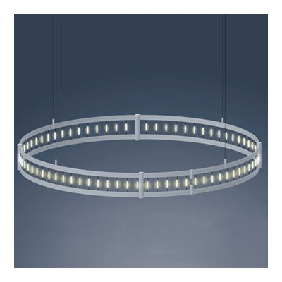 Flight Drum Chandelier Size: 5.13 H x 97.25 W x 97.25 D