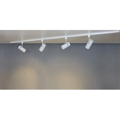 Eco 4-Light Track Light Kit Finish: White