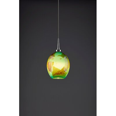 Bolero 1-Light Mini Pendant Color: Chrome