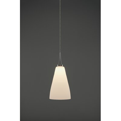Zara 1-Light Mini Pendant Color: Matte Chrome