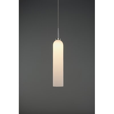 Candle 1-Light Mini Pendant Finish: Matte Chrome