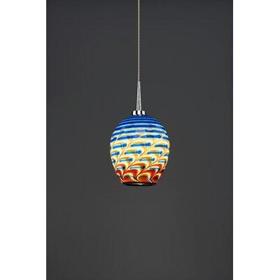 Bolero 1-Light Mini Pendant Color: Chrome