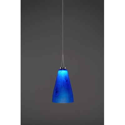 Zara 1-Light Mini Pendant Finish: Matte Chrome
