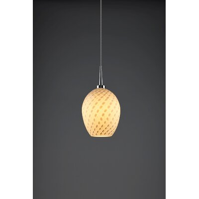 Bolero 1-Light Mini Pendant Finish: Chrome