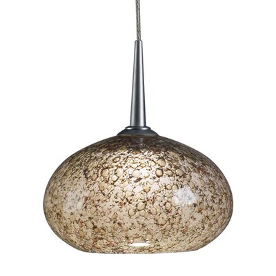 Laguna 1-Light Globe Pendant Color: Matte Chrome