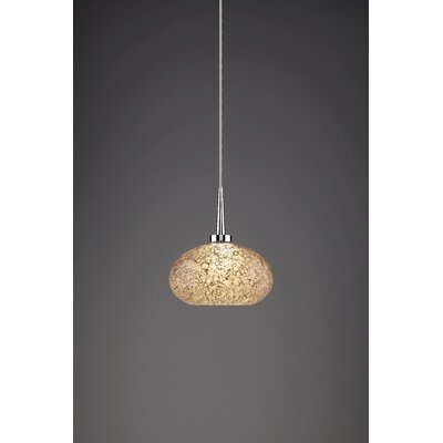 Laguna 1-Light Globe Pendant Color: Chrome