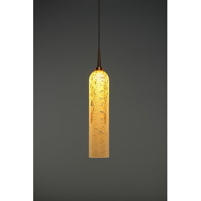 Chianti 1-Light Mini Pendant Finish: Bronze
