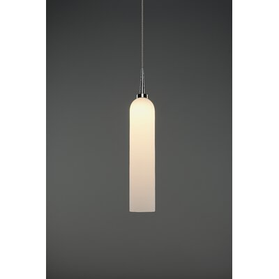 Candle 1-Light Mini Pendant Color: Chrome