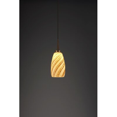 Ciro 1-Light Mini Pendant Finish: Bronze