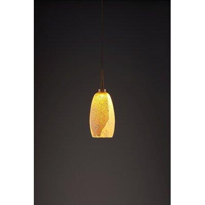 Ciro 1-Light Mini Pendant Finish: Bronze