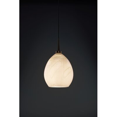 Vibe 1-Light Monopoint Globe Pendant Color: Bronze