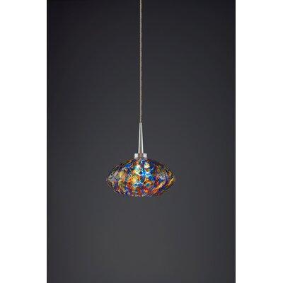 Pandora 1-Light Globe Pendant Finish: Matte Chrome