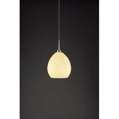 Vibe 1-Light Monopoint Globe Pendant Color: Chrome